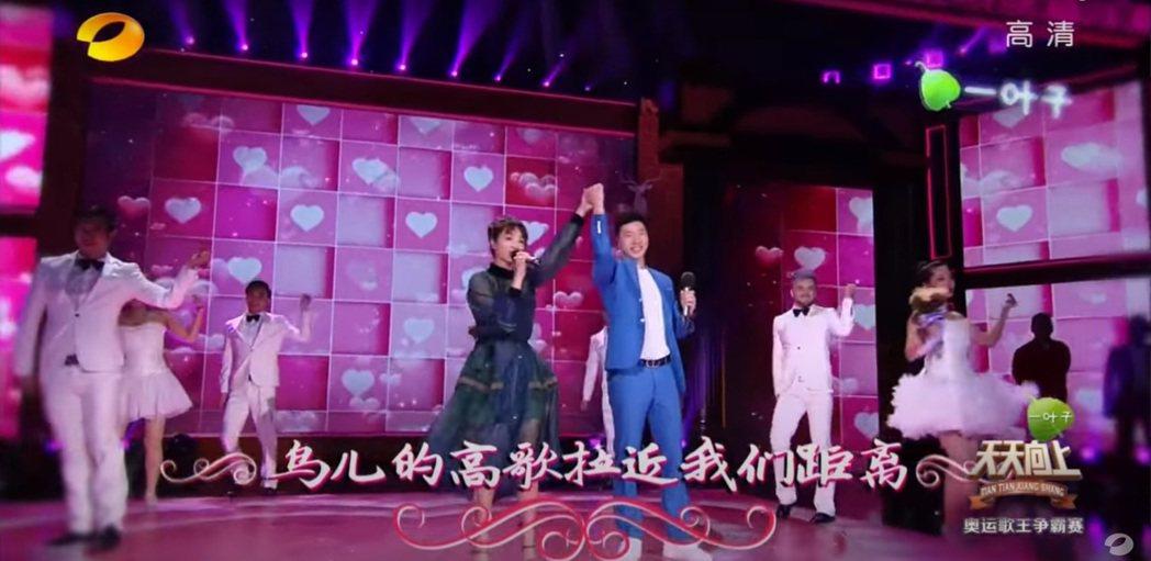 蔡依林曾和馬龍在節目裡合唱。圖/擷自YouTube