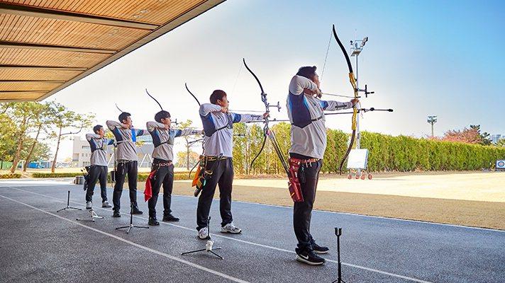 Hyundai Motor Group現代汽車集團贊助韓國射箭運動已37年。 摘...