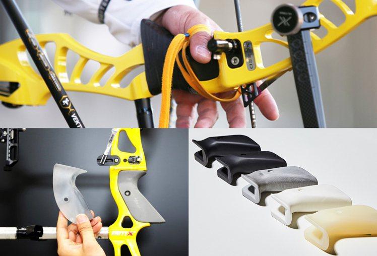 韓國射箭選手的握把都是使用Hyundai的3D列印技術,打造最適合自己的「個人化...