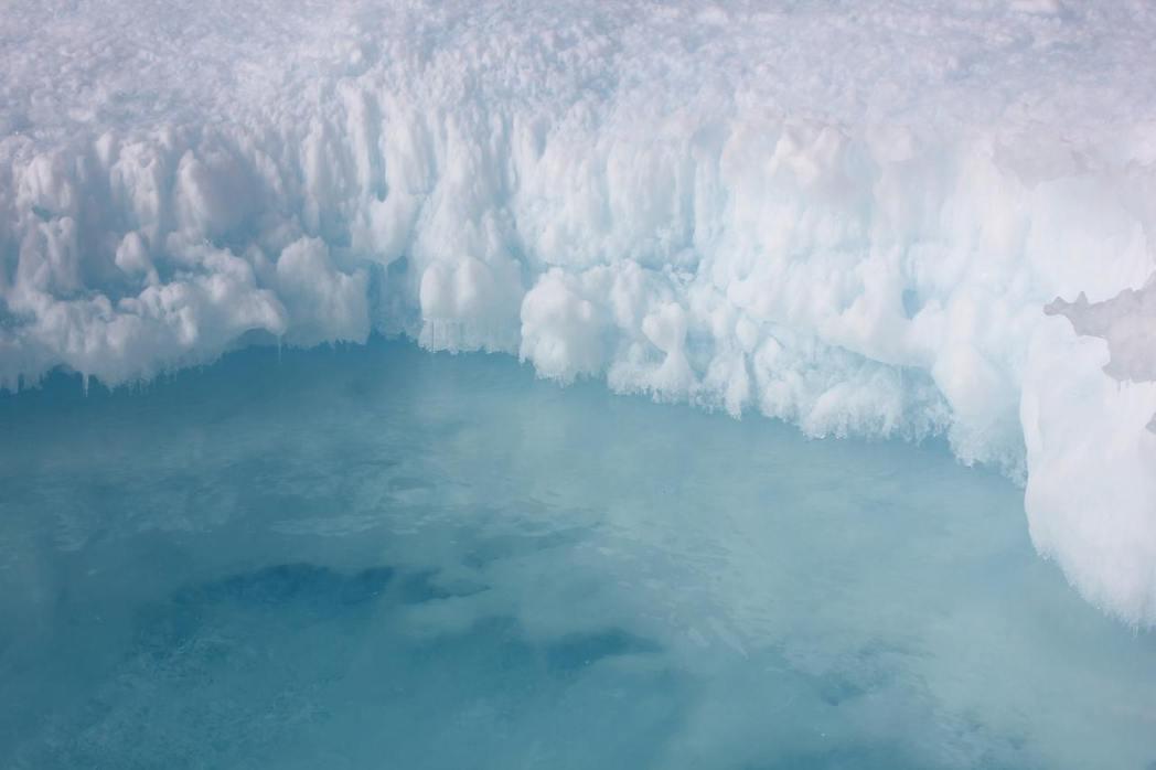 北極融冰的速率、地球氣溫的快速上升,讓專家擔憂不已。 圖/unsplash