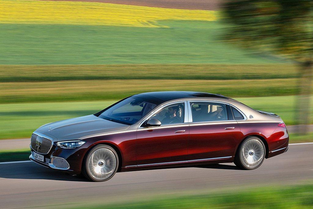 Mercedes-Maybach S 580 4MATIC共提供10種銀粉漆、5...