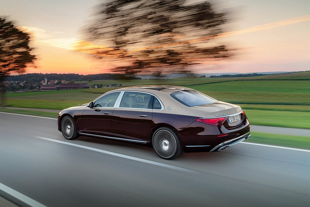 Mercedes-Maybach S 580 4MATIC運用E-ACTIVE ...