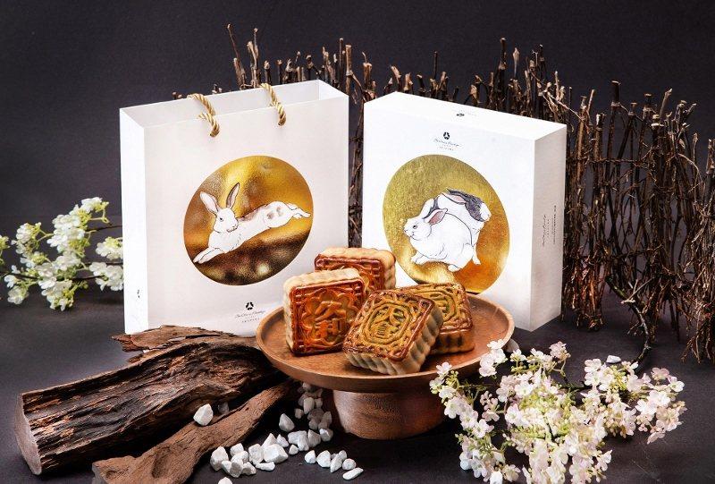 大倉久和的廣式月餅獨家使用「桃花林中華料理」主廚手工製作XO醬增添濃郁香氣。 大...