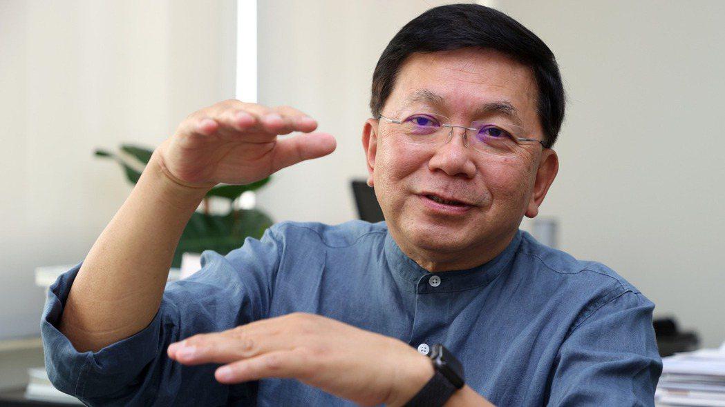 台康生技總經理劉理成。報系資料照