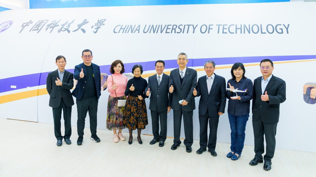 中國科大航空服務專業教室啟用。 中國科大/提供