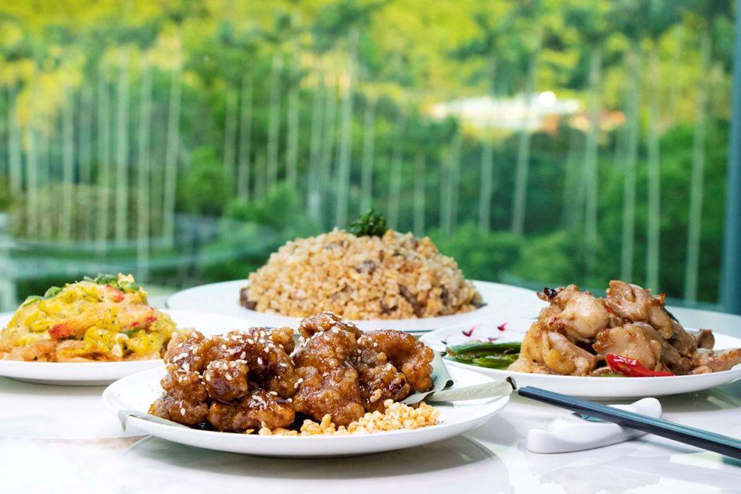 台北士林萬麗酒店-即食行樂住房專案-晚餐「萬麗軒經典組合」。