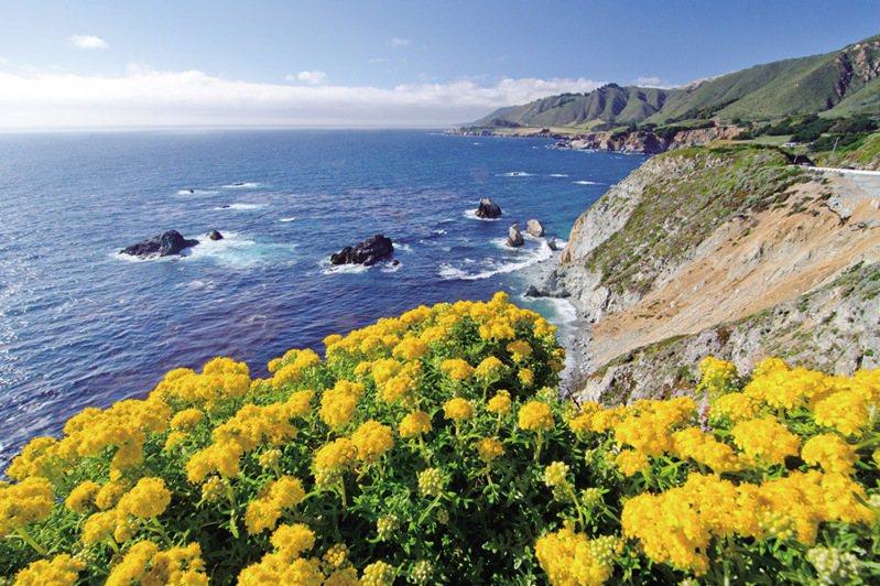 ▲海天美景令人流連忘返。  圖:加州旅遊局/提供