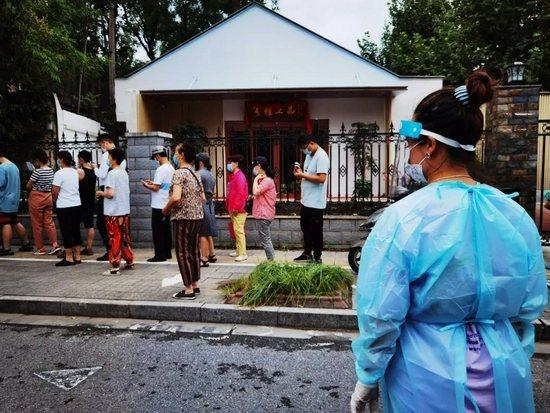 大陸本土疫情仍緊張,繼南京市後,揚州市也在升溫。(圖/取自大陸自媒體)