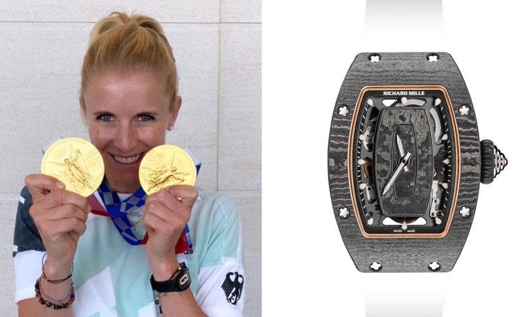 RICHARD MILLE品牌摯友Jessica Von Bredow日前奧運奪...