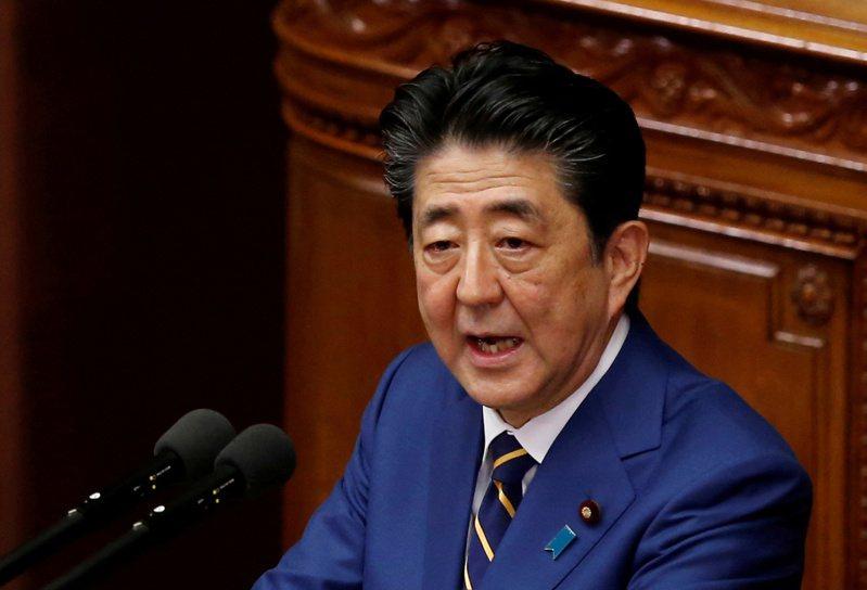 安倍晉三上周在一場由美、日、台國會議員參與的視訊會議上表示,日本不能讓發生在香港的事也臨到台灣。路透