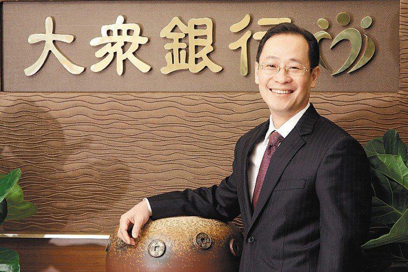 陳建平曾擔任大眾銀董事長,但強調目前與金融業無關係,符合「媒金分離」條件。圖/聯合報系資料照片