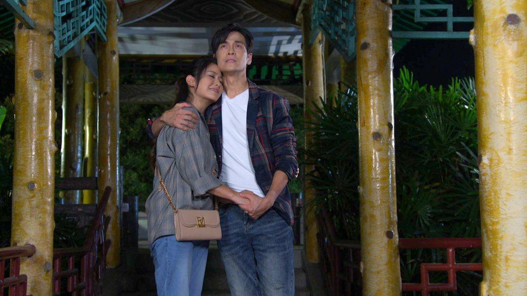 葉家妤跟Gino在《黃金歲月》筆友相認讓觀眾大讚有情人終成眷屬。圖/民視提供