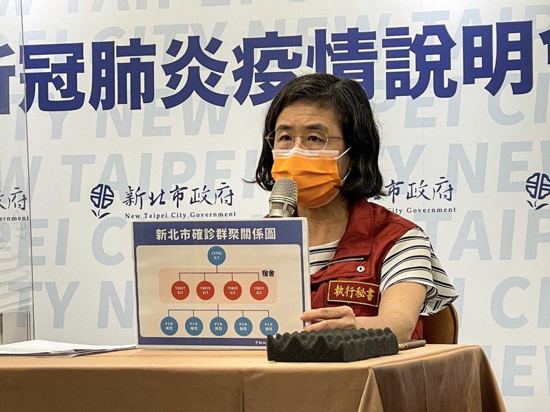 衛生局長陳潤秋表示,目前共擴大採檢182人,另有5名病人PCR陽性,列明天公布個案。記者王敏旭/攝影