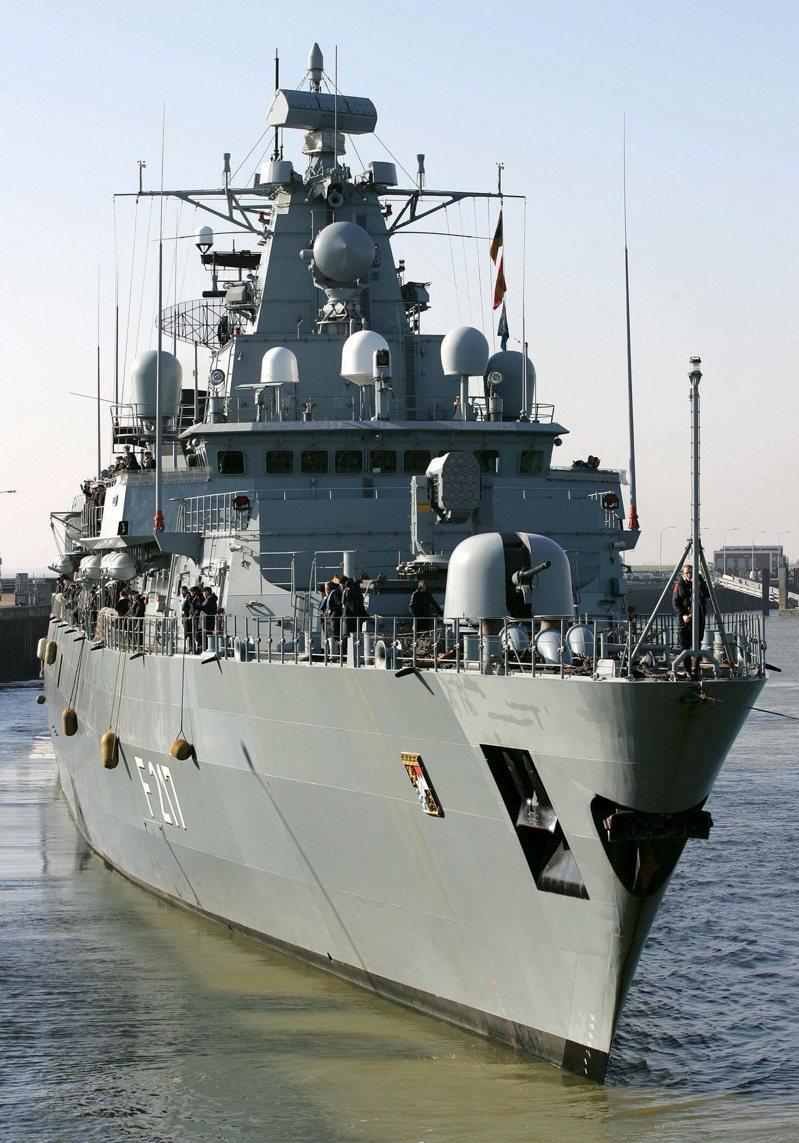 近20年来首次 德国军舰启程前往南海