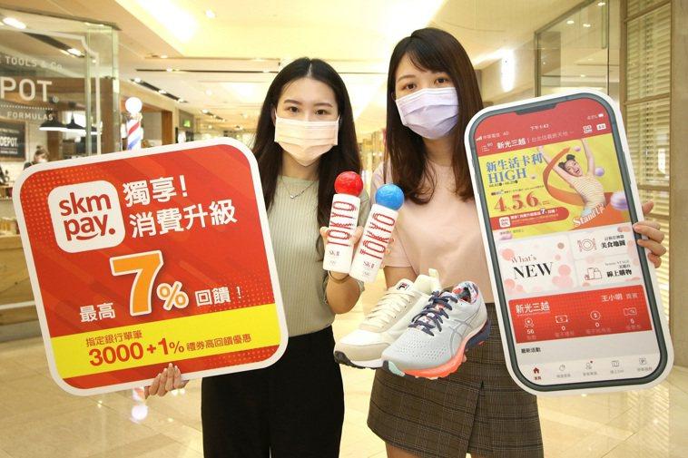新光三越攜手2,600家品牌、11大銀行,8月5日至8月29日推出一連25天的「...