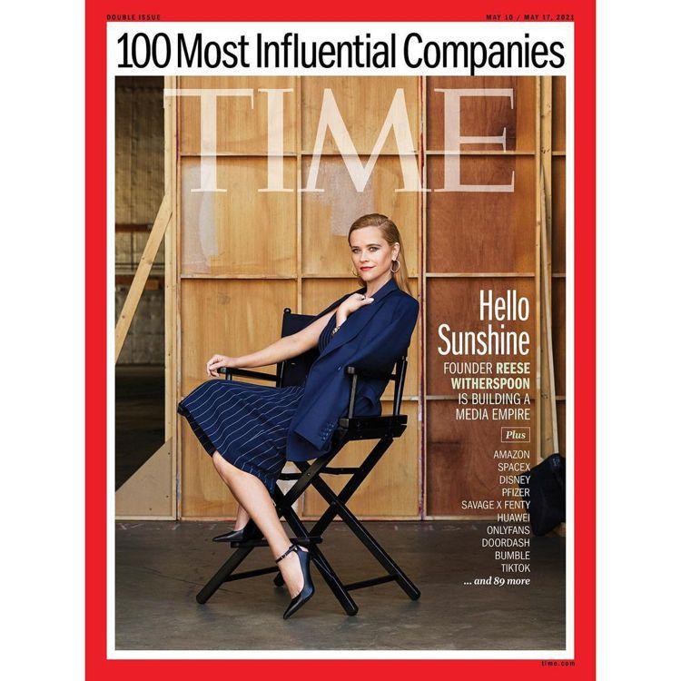 瑞絲薇絲朋以往就曾因成立製片公司,登上「時代」封面。圖/摘自IG