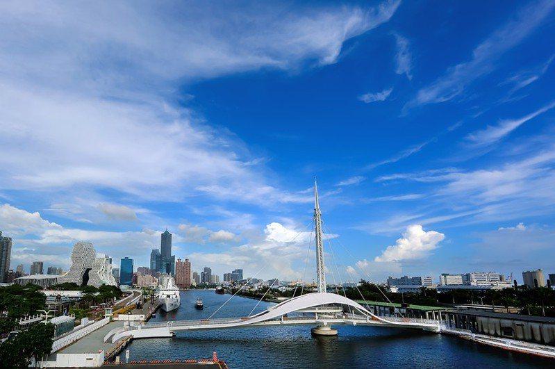 疫情趨緩,高雄港大港橋將於本周六起再度開放。圖/高雄港務分公司提供