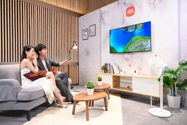 小米智慧顯示器P1 50型支援4K Ultra HD震撼畫質及MEMC動態補償技術,打造劇院級視聽饗宴。圖/小米台灣提供