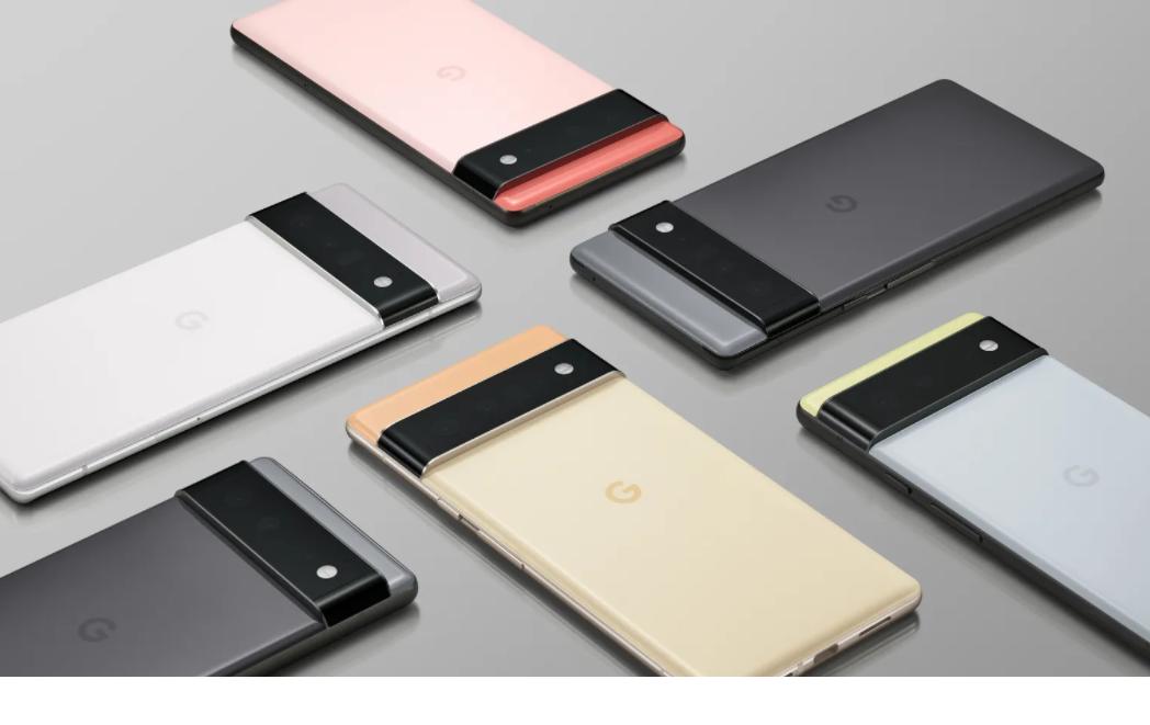 Google發表最新旗艦手機Pixel 6系列。