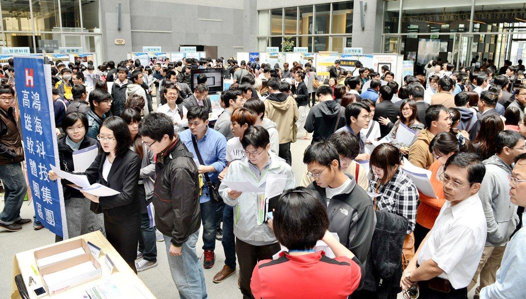 第二季半導體產業每月徵才2.77萬人,但少子化衝擊和台積電磁吸效應,台灣半導體出...