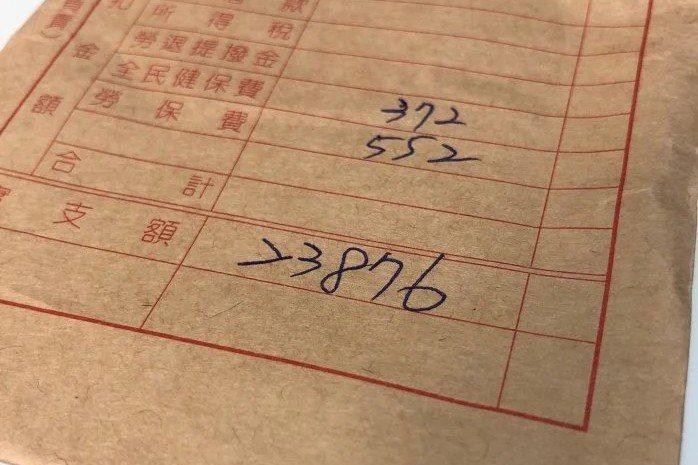 一位女網友發現薪尾數零錢76元直接被捨去,雖然金額不高,但心裡覺得不舒服。圖擷自《Dcard》