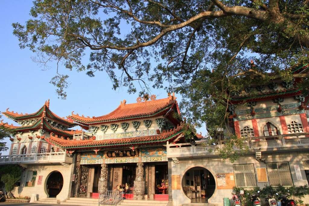 赤山龍湖巖。 圖/台南市政府觀光局