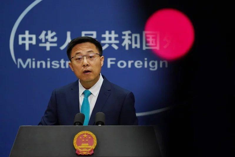 中國外交部發言人趙立堅是戰狼外交的代表人物。 圖/歐新社