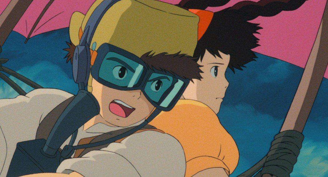《天空之城》主角巴魯(左)與希達(右)。 ©Studio Ghibli