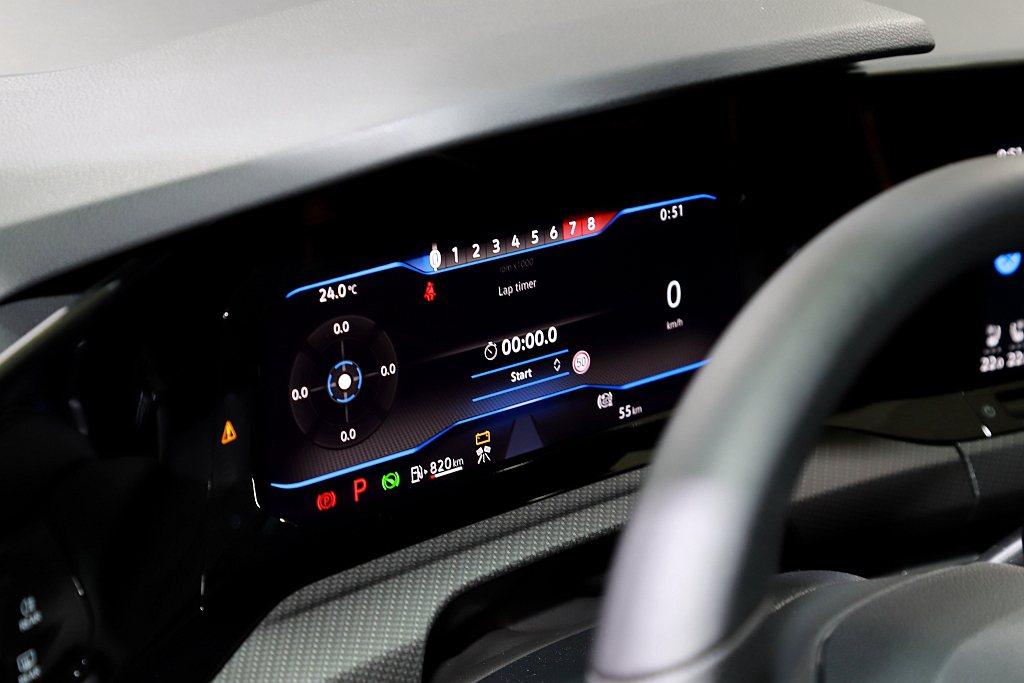 Digital Cockpit Pro 10.25吋全邏輯數位化儀表可顯示R專屬...