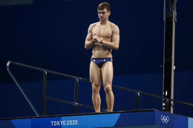 英國跳水王子Tom Daley。 歐新社