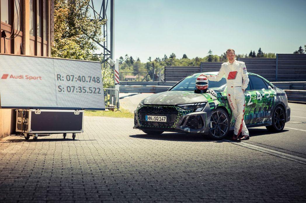 Audi RS3 Sedan以7:40.748刷新紐柏林Compact Car紀...