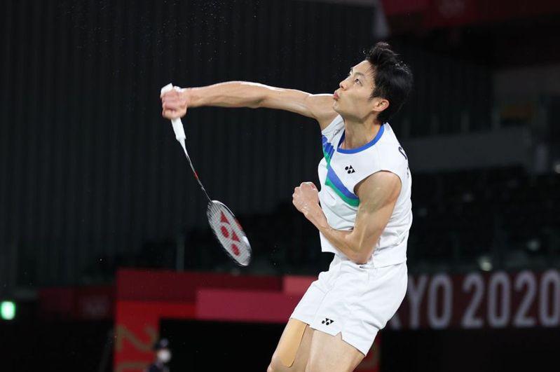 中華羽球隊參加蘇迪曼盃的陣容中,只有「一哥」周天成是東京奧運的中華代表團成員。 報系資料照
