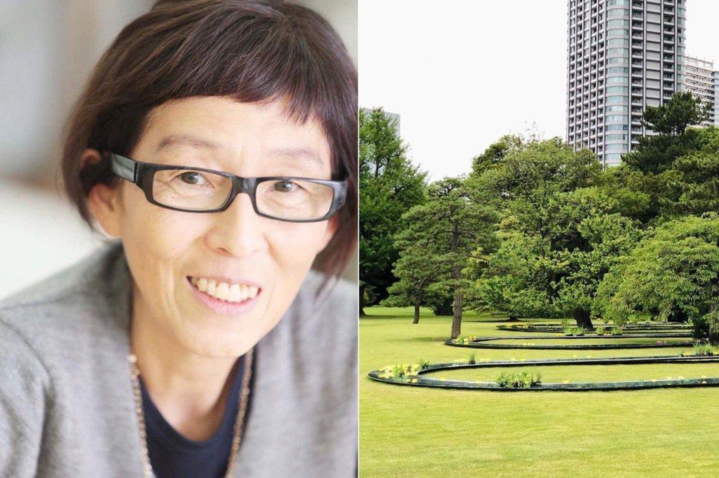 妹島和世打造「水明」流水庭院。圖/摘自Pavilion Tokyo 2021 I...