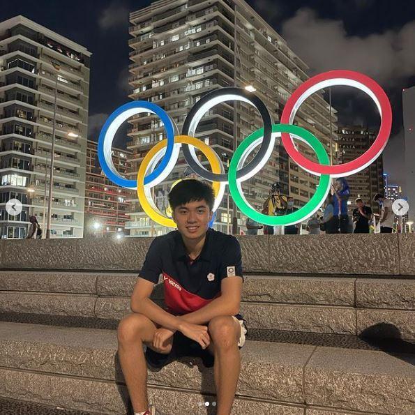 林昀儒4日在IG發文,分享參加奧運的心情。圖翻攝自林昀儒IG