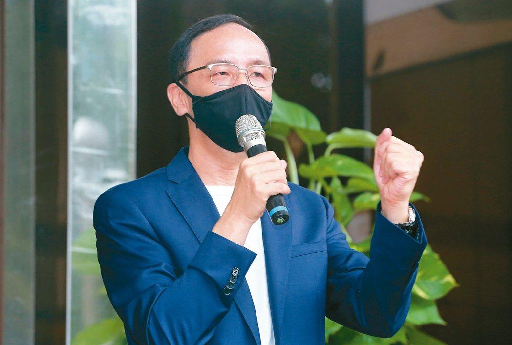 國民黨前主席朱立倫。記者胡經周/攝影