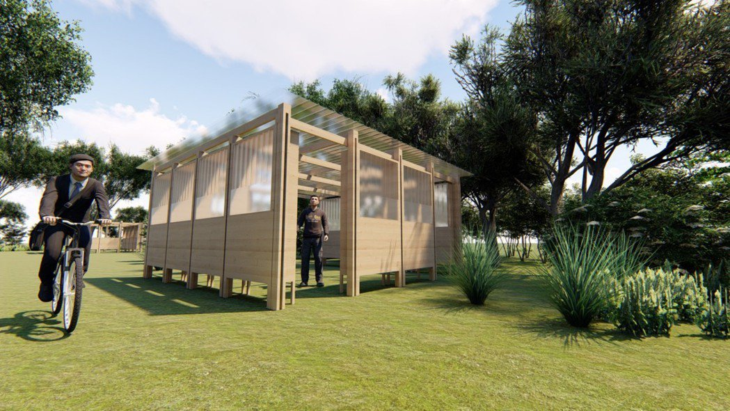 崑大USR團隊提出「全齡共樂」方案,「親子共森」完善大隆田生態文化園區。