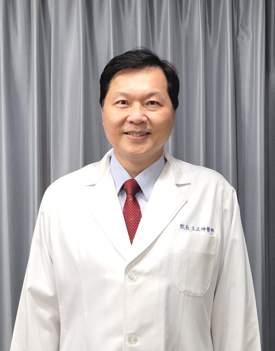 王正坤醫師本身是皮膚科專科醫師,也是企管學博士,更是羽球迷。 王正坤醫師/提供