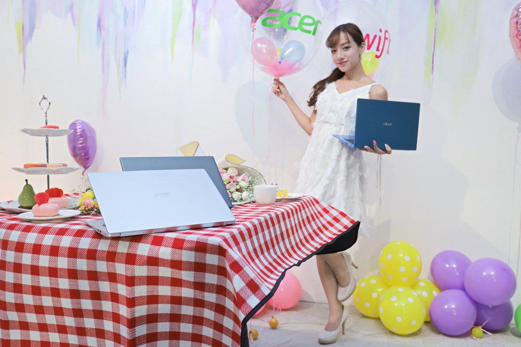 2021 Acer Day日前登場,入手超輕薄筆電正是時間點。 彭子豪/攝影