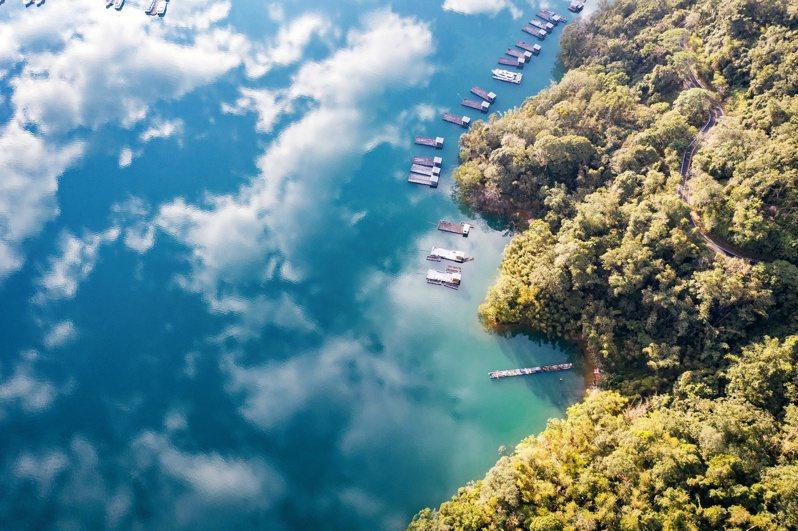 日月潭一景 © 視覺中國