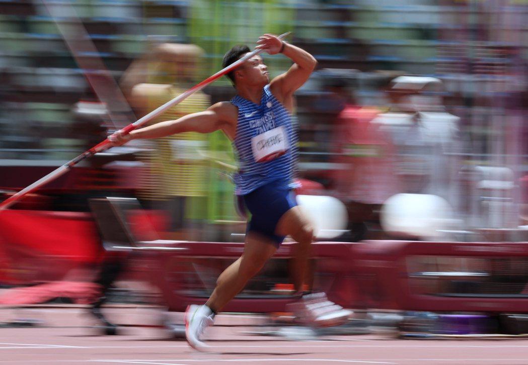 鄭兆村奧運初體驗從東奧資格賽展開。特派記者余承翰/東京攝影