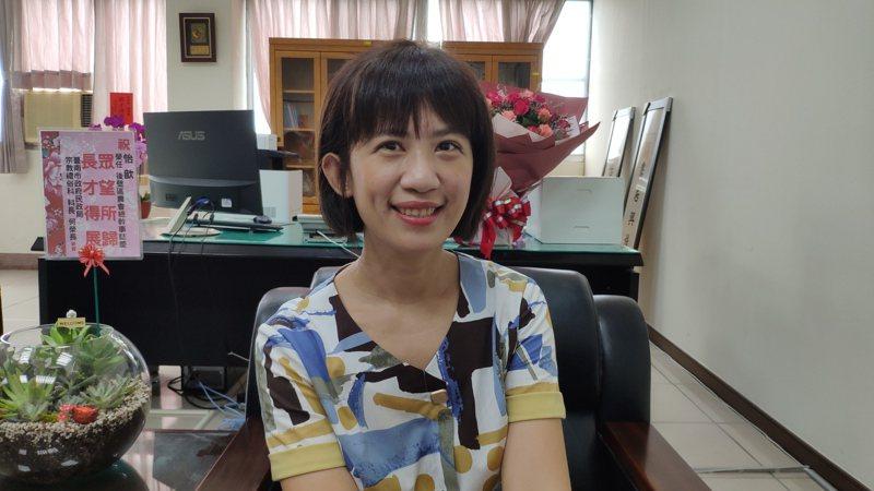 台南後壁農會總幹事林怡歆。記者謝進盛/攝影