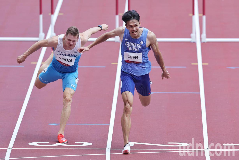 <u>圖輯</u>/陳奎儒13秒57遭淘汰 準決賽仍是37年最佳紀錄