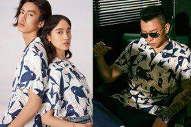送男友一件「瘦子同款」!海豚印花夏威夷衫有型又可愛