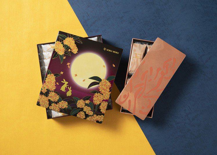 YOKU MOKU推出雪茄蛋捲搭配夏威夷豆巧克力餅乾的雙拼禮盒。圖/YOKU M...