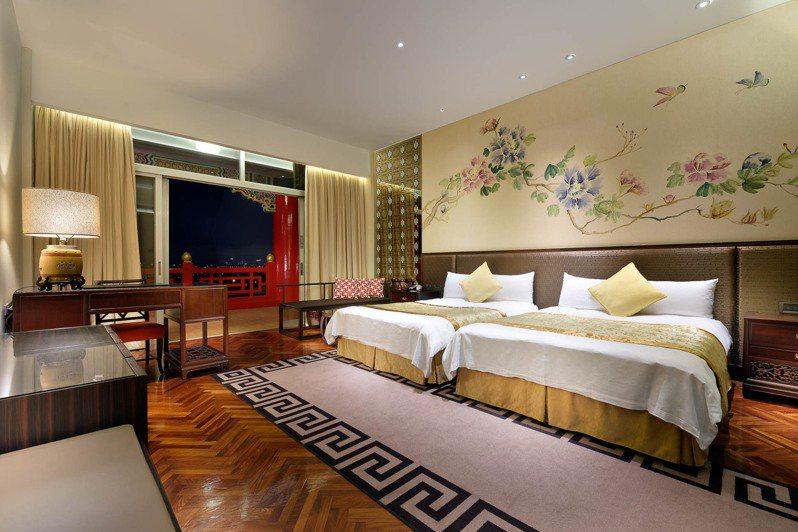 過去款待國賓的「菁英天際客房」。圖/台北圓山提供