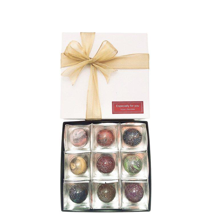 JOYCE-CHOCOLATE星球9入球型禮盒,「全家行動購」網路商城售價959...