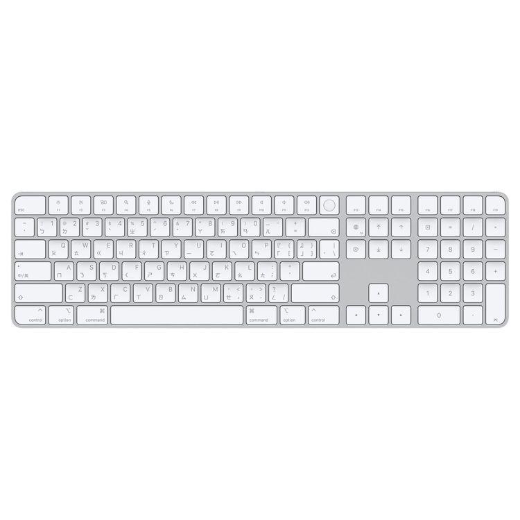 含Touch ID和數字鍵盤的巧控鍵盤,售價5,290元。圖/摘自蘋果官網