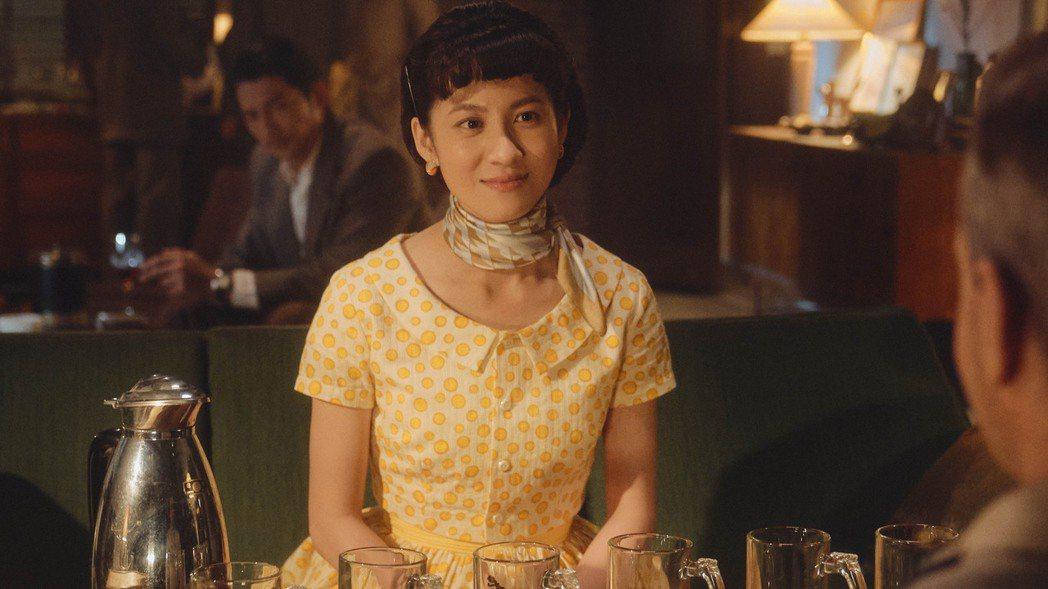 連俞涵在「茶金」劇中飾演茶商千金,使命就是「娶」一個丈夫進門。圖/公視提供