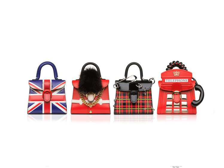 Miniatures迷你包掛系列-英國So British主題。圖/Delvau...