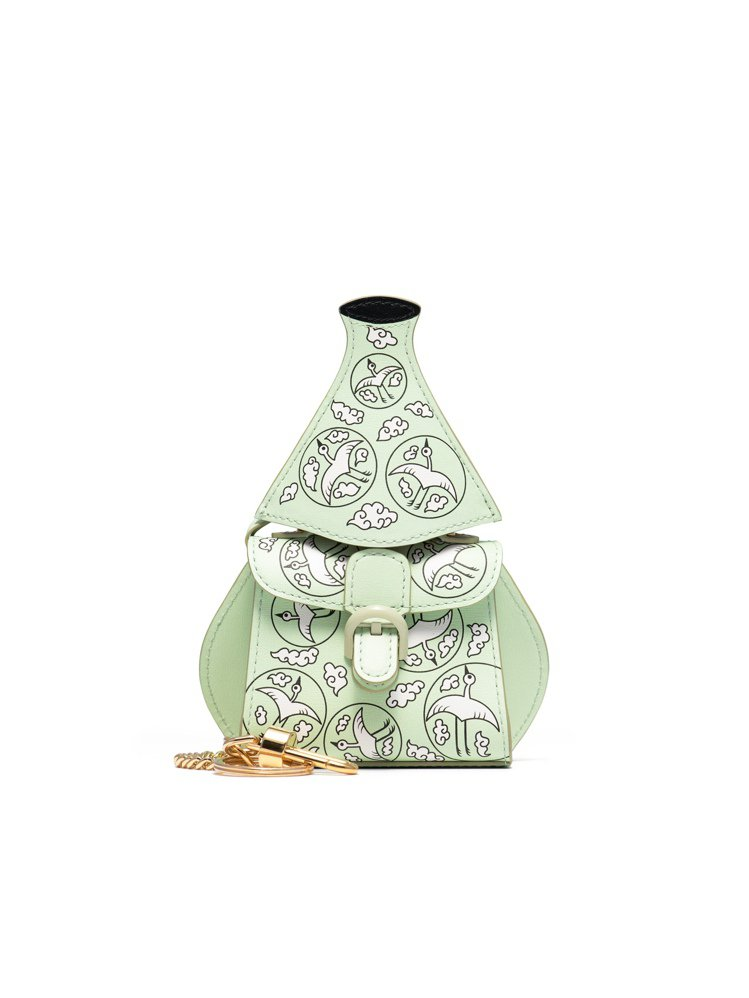 Delvaux Miniatures迷你包掛系列全新加入了韓國主題包。圖/Del...